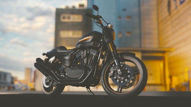 אופנוע שחור ויפה